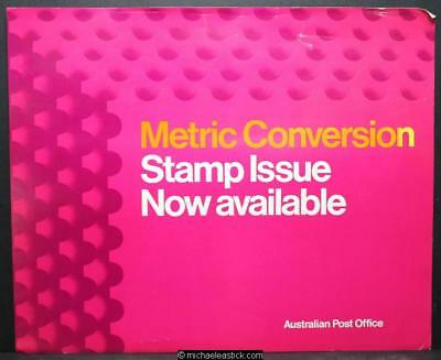 Australia Post display sheet - Metric Conversion 1973