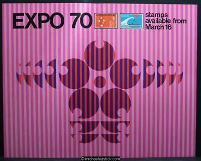 Australia Post display sheet - Expo 70 Japan