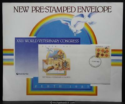 Australia Post display sheet - Veterinary World Congress PSE 22nd August 1983.