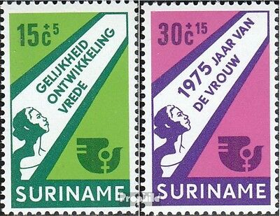 Suriname 693-694 (complete issue) unmounted mint / never hinged 1975 Internation