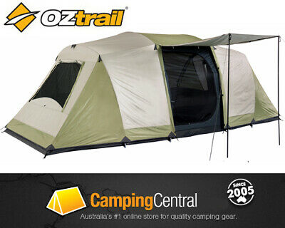 OZTRAIL SEASCAPE (3-ROOM) SLEEPS 10 Dome Family 10 Man Person Tent  NEW