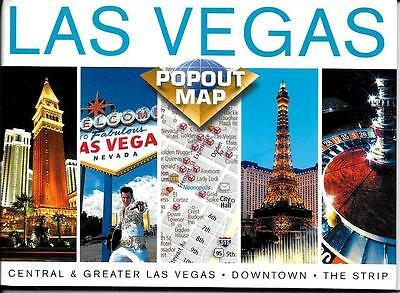 PopOut Map of Las Vegas, NV,  by PopOut Maps