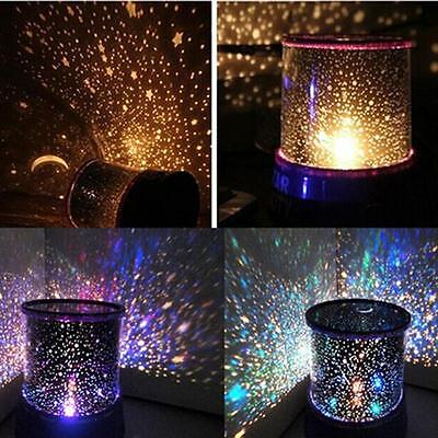 Romantic LED Starry Night Sky Projector Lamp Star Light Master Great Sale