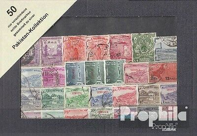 Pakistan 50 different stamps
