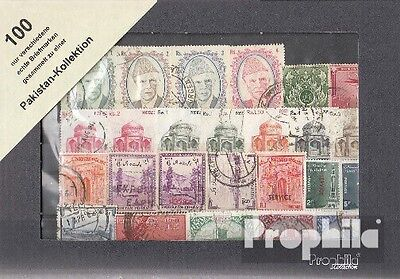 Pakistan 100 different stamps
