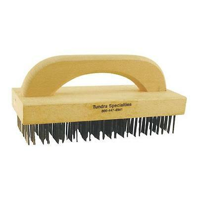 Commercial - 9 in Course Bristle Broiler Grill Brush