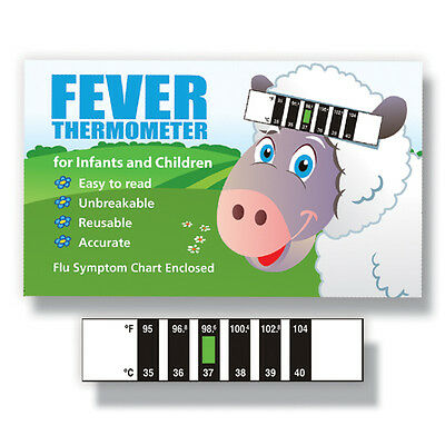 Lamb Feverscan Forehead thermometer with Cold & Fever Baby Information Pack