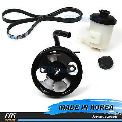 Power Steering Pump Belt Reservoir for 01-06 Hyundai Santa Fe 2.7L 57100-26100