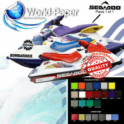 Seat Cover 96-04 SeaDoo GSX GSi GS Any Single Color :)
