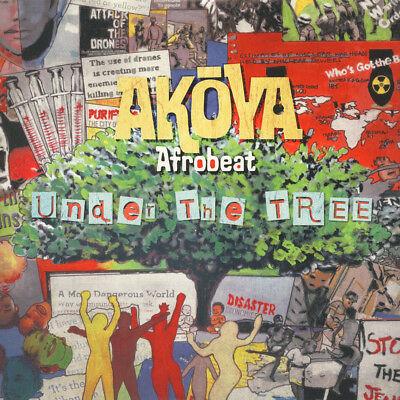 Akoya Afrobeat Ensemble - Under The Tree (Vinyl LP - 2016 - US - Original)