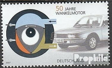 FRD (FR.Germany) 2582 (complete issue) unmounted mint / never hinged 2007 Wankel