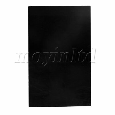 3-ply Black Blank Scratch Plate for Guitar Bass Musical Instrument Part