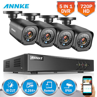 SANNCE 8CH 1080N 1500TVL AHD DVR IR Camera Outdoor Home CCTV Surveillance System