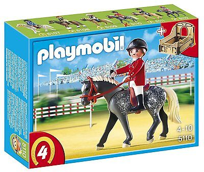 BNIB Playmobil 5110 HORSES Equestrian Horse with Rider and Stable
