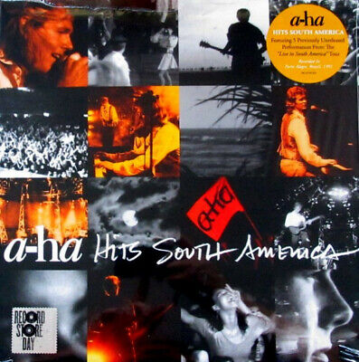 A-Ha Hits South America RSD exclsuive vinyl LP NEW/SEALED