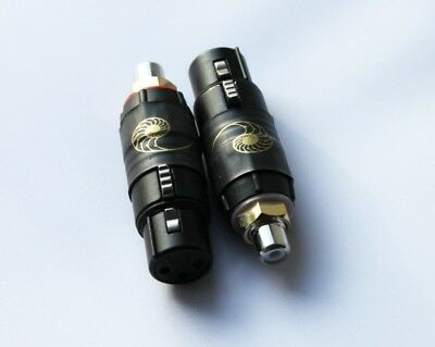 Cardas Female XLR to Female RCA Adapter pair