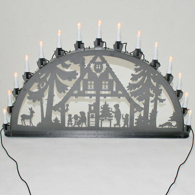 schwibbogen lichterbogen metall waldhaus weihnachten xl. Black Bedroom Furniture Sets. Home Design Ideas