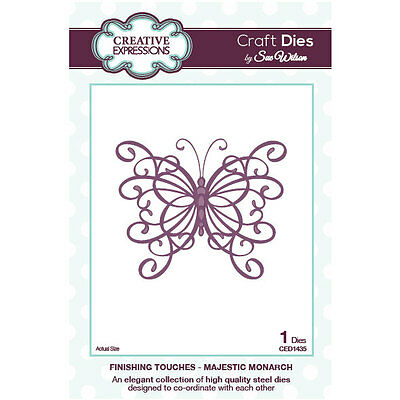 Sue Wilson - Finishing Touches Collection - Majestic Monarch (CED1435)