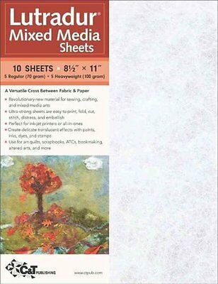 Lutradur Mixed Media Sheets by C & T Publishing 9781571209368