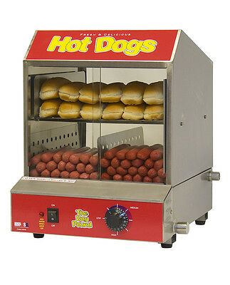Hotdog Steamer cooker #60048 Dog Pound Hot dog Machine