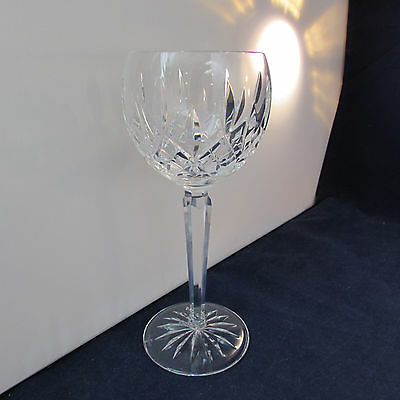 SET OF TWO - Waterford Crystal LISMORE Hock Wine Glasses