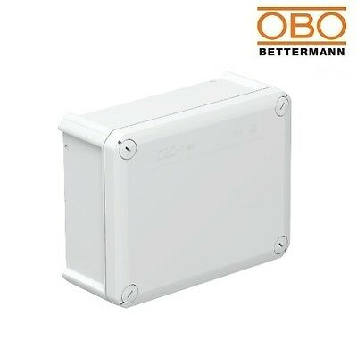 OBO Bettermann Junction Box T160 190x150x77mm 2007 271 Light Grey IP66 2007271