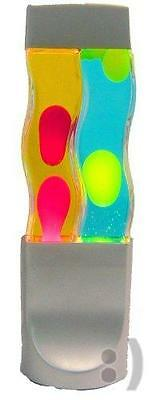 Creative Motion Twin Motion Lamp, Yellow Wax/Blue Liquid and Red Wax