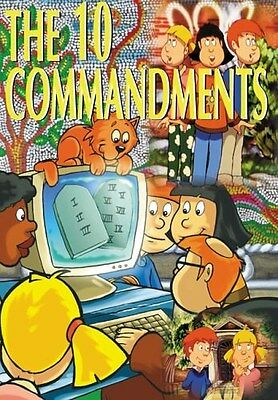 The Ten Commandments Animated For Kids Dvd