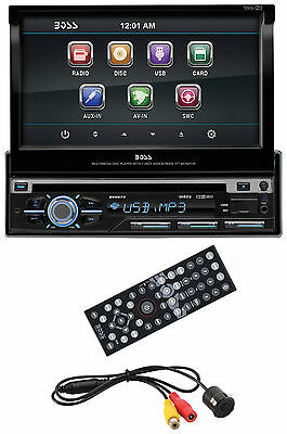 "BOSS BV9977 7"" TOUCHSCREEN Car CD/DVD/MP3 Player Aux SD Receiver + Backup Camera"