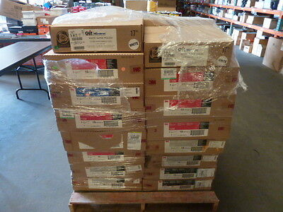 new 3m 5100 red buffer Pads 18 inch 18'' box of 10 new machine use