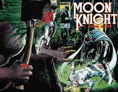 Moon Knight Special Edition #2 Very Fine 1983 Marvel Comics