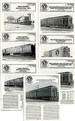 7 Great Northern Hist. Society Reference Sheets - Head End Cars 1-7
