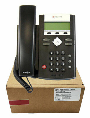 polycom soundpoint ip 335 dual line voip business phone 34 99 rh picclick com Polycom IP 321 Phone Headsets Polycom IP 321 Phone Headsets