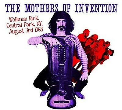 Mothers Of Invention - Wollman Rink,central Park Ny  1968 2 Vinyl Lp New+