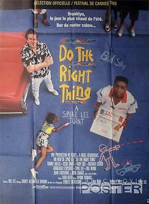 Do The Right Thing - Spike Lee / Brooklyn / Pizza - Original Large French Poster