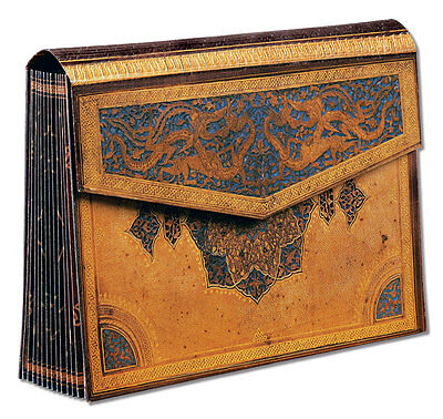 Paperblanks Safavid Accordian Box or Expanding Storage Box Folder