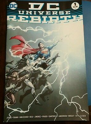 DC Universe Rebirth #1 (1st Print Regular Cover) 2016 One-Shot