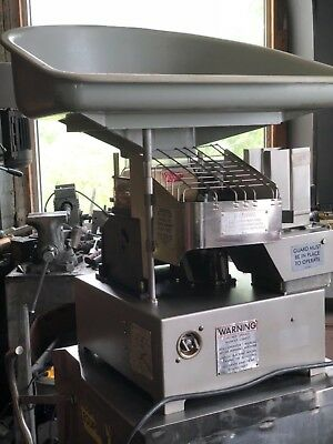Hollymatic Super 54 Hamburger Patty portion Machine 2100 burgers per hour