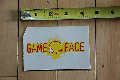 NEW Gameface Sticker Decal for paintball airsoft