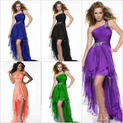 Long Evening Formal Party Ball Gown Prom Bridesmaid Dress Stock Size 6 -16
