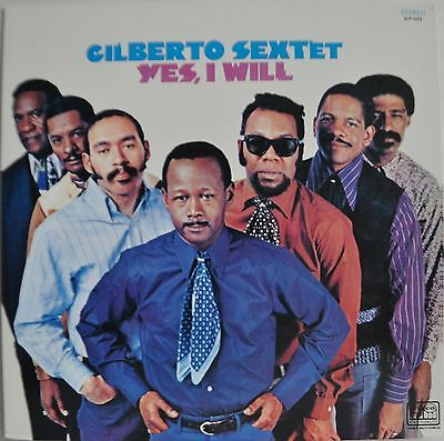 Gilberto Sextet Yes, I Will Japan LP 1993 Blues Interactions PLP-6587 Tico