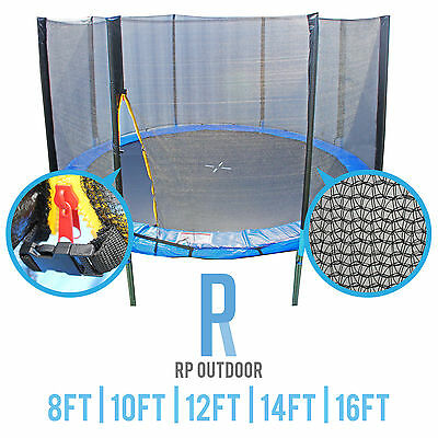 NEW Replacement Trampoline Safety Pole Net Round Spare 8ft 10ft 12ft 14 16 foot