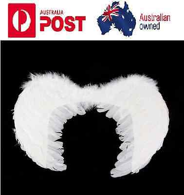 4 Siize Foldable Feather Fairy Angel Wings Party Fancy Dress Costume Accessory