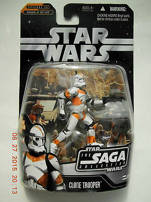Star Wars Saga Collection Clone Trooper Action Figure! New!