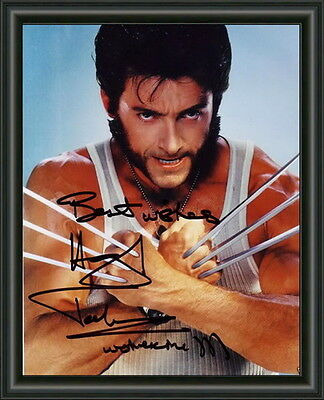 X-Men - Hugh Jackman - Wolverine - A4 Signed Photo Poster -  Free Post