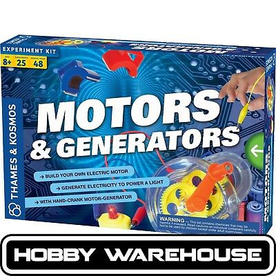 Thames & Kosmos Motors and Generators Experiment Kit