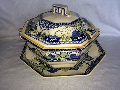 **SUPERB** Royal Doulton 'Merryweather' Large Soup Tureen & Stand