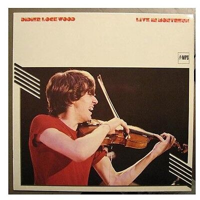 "Didier Lockwood ""live In Montreux"" - Lp"