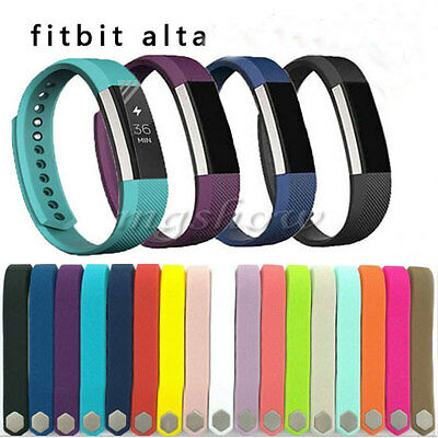 Luxury Genuine Wristband Band Strap For Fitbit Alta Fitness Replacement Tracker