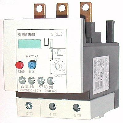 SIEMENS 3RU1146-4JB0 Overload Relay for mounting on Contactor 45-63A